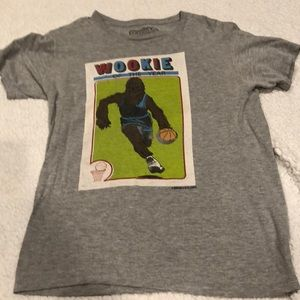 Wookie of the year David & Goliath size small tee